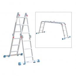 Σκαλα αλουμινιου πολυμορφικη με 16 σκαλια BORMANN PRO BHL5050 029618