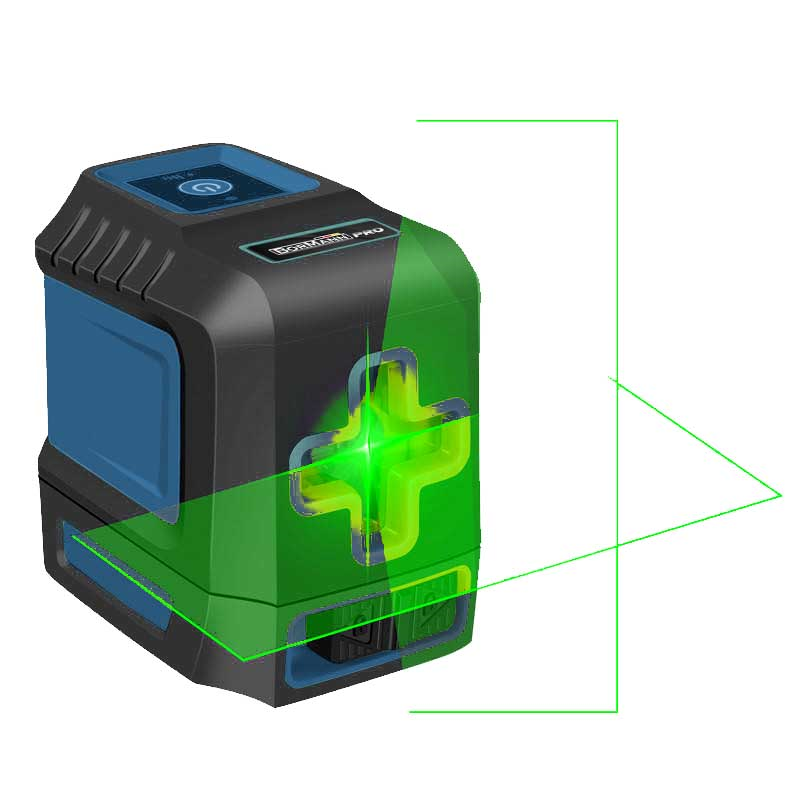 Αλφαδι Laser Σταυρου αυτορυθμιζομενο BORMANN PRO BDM6800 029038
