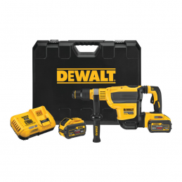 DeWALT DCH614X2 Πιστολετο 10.5J 54V XR BRUSHLESS sds-max 2x9.0Ah Li-ion