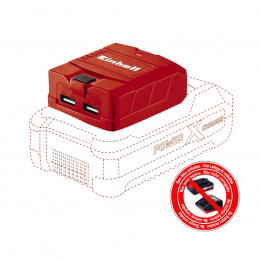 Einhell Ανταπτορας μπαταριας USB 18V POWER X-CHANGE TE-CP18Li USB SOLO 4514120