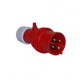 Φις αρσενικο 400V 4x32A IP44 PCE 024-6
