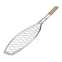 Σχαρα ψησιματος ψαριου INOX 68x15cm BORMANN BBQ1013 033325