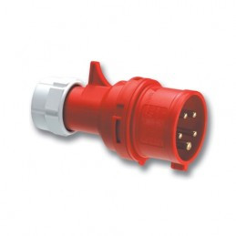 Φις αρσενικο 400V 5x32A IP44 PCE 025-6