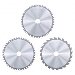 Σετ δισκοι φαλτσοπριονου 3τμχ 210mm 24-42-60 δοντιων KWB 49587805