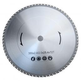 Δισκος δισκοπριονου 355x25.4mm πολλαπλων χρησεων BORMANN PRO BCS3500 030607