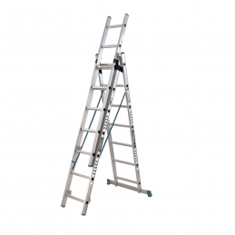 Σκαλα αλουμινιου τριπλη με 27 σκαλια BORMANN PRO BHL5090 029656