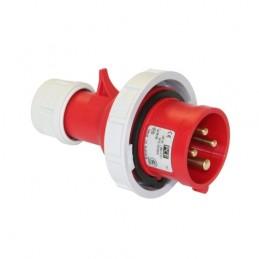 Φις αρσενικο 400V 4x32A IP67 PCE 0242-6