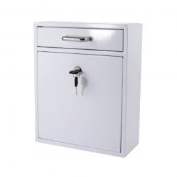 Γραμματοκιβωτιο Λευκο BORMANN BMB1102 022398