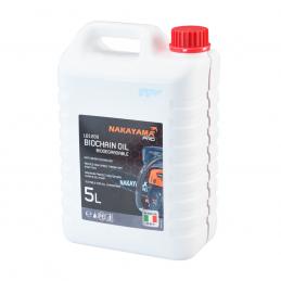 Λαδι αλυσιδας-λαμας αλυσοπριονου βιοδιασπωμενο 5lt NAKAYAMA PRO LB1200 035022