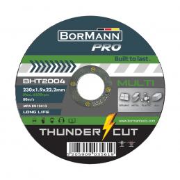 Δισκος κοπης πολλαπλων υλικων 230x1.9mm Thunder-Cut BORMANN PRO BHT2004 035619
