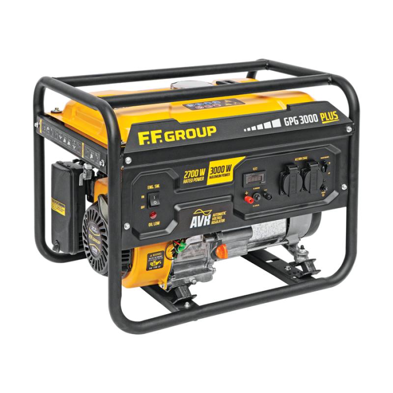 Γεννητρια βενζινης 3.75kVA FFGROUP GPG3000 PLUS 46093