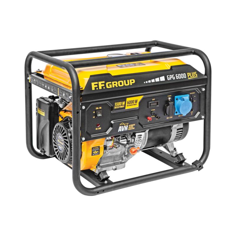 Γεννητρια βενζινης 7.5kVA FFGROUP GPG6000 PLUS 46094