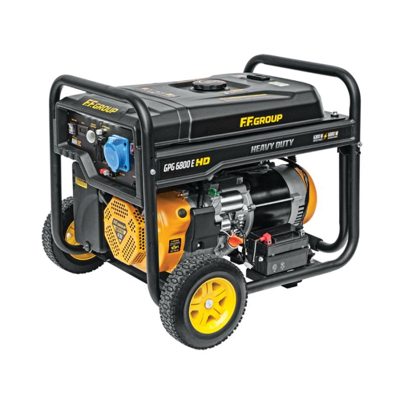 Γεννητρια βενζινης 8.5kVA FFGROUP GPG6800E HD 46098