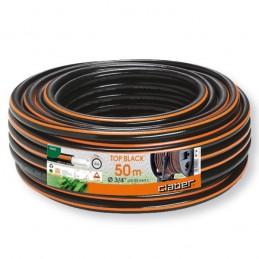 """Λαστιχο ποτισματος 3/4\"""" 50m 100% PVC CLABER Top black"""